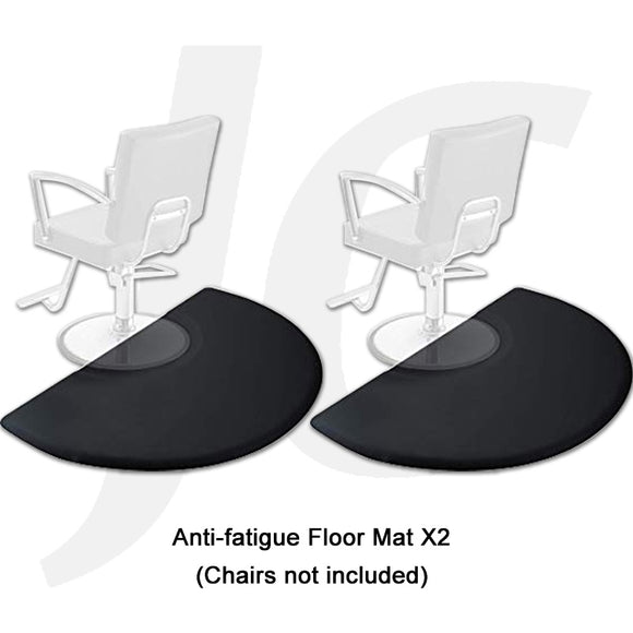 Salon and Barber Cutting Chair Floor Mat Anti-fatigue 3'x5'(Width)x5/8