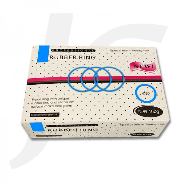 Rubber Ring In Box Blue 30mm 100g HS27030 J22RX3