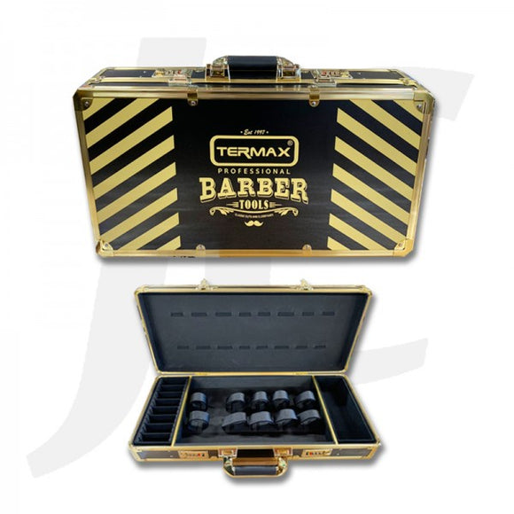 Termax Professional Barber Tool Box Golden J27TPB