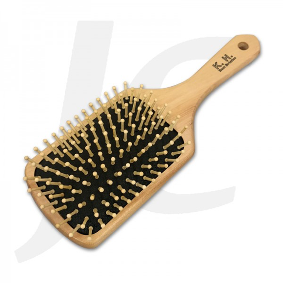 KH Lina Paddle Comb Brush Wooden Bristle 887-4 J23P87