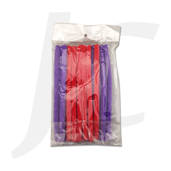 Flexible Nylon Perm Rod Short Thick J22NDC
