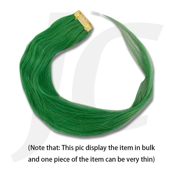 Stick In Hair Extension Real Hair 1pc Green J17SIG