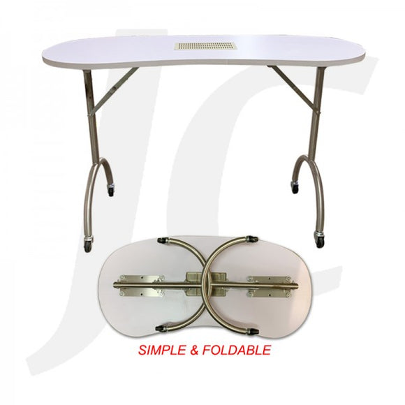 Portable Foldable Manicure Table For Mobile Service J34PMT