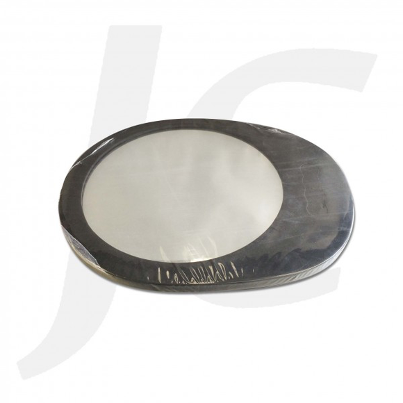 Round Foam Hand Mirror Black J214OH