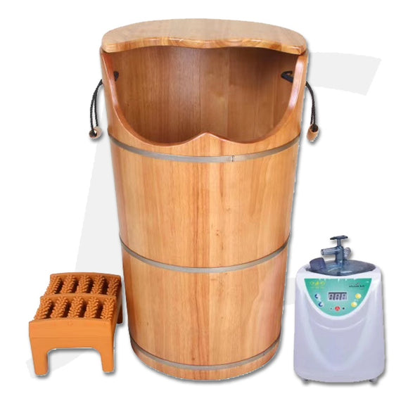 Foot Spa Barrel Steam With Lid Tall FY-9024