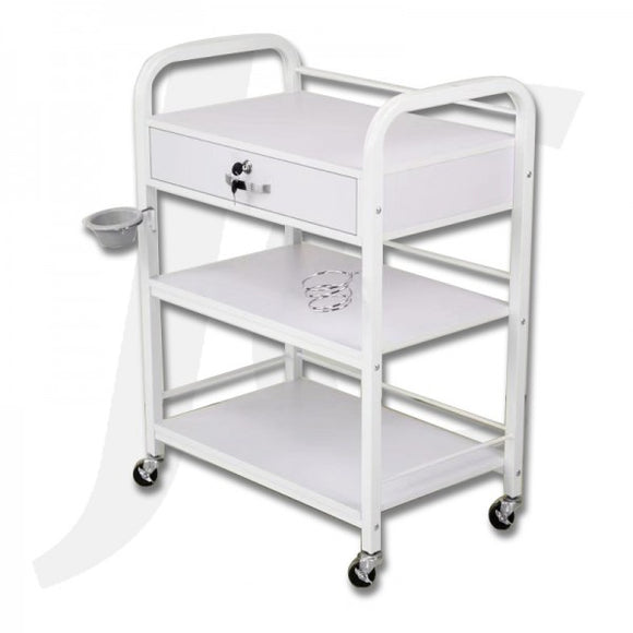 Beauty Trolley Wood Extra-Large Super-Heavy 65(Width)x40.5(Depth)x87.5(Height)cm R806 J34TSH