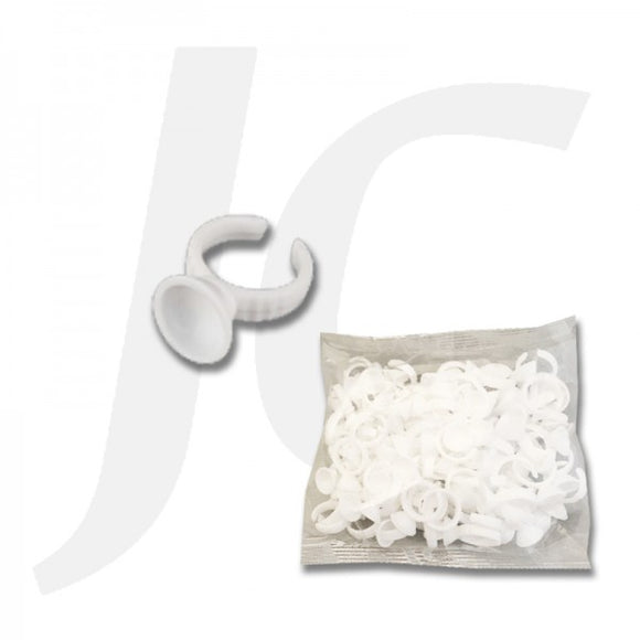 Lash Glue Ring Plate 100pcs J211LRP