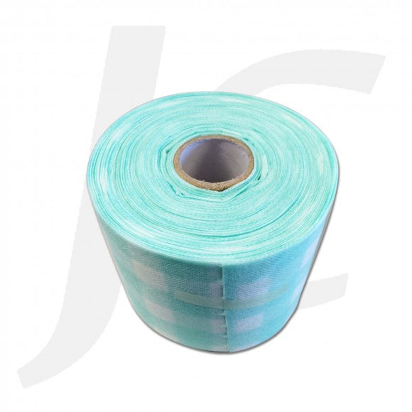 Disposable Facial Wipe Towel Roll Green Pattern J314FWR