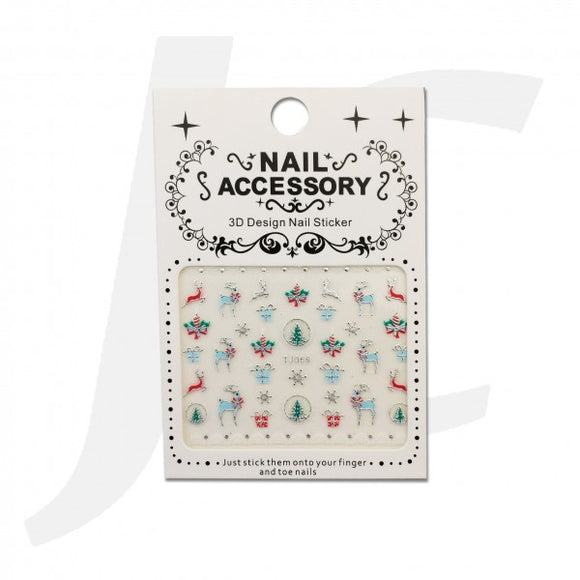 Nail Sticker TJ059 J84T59