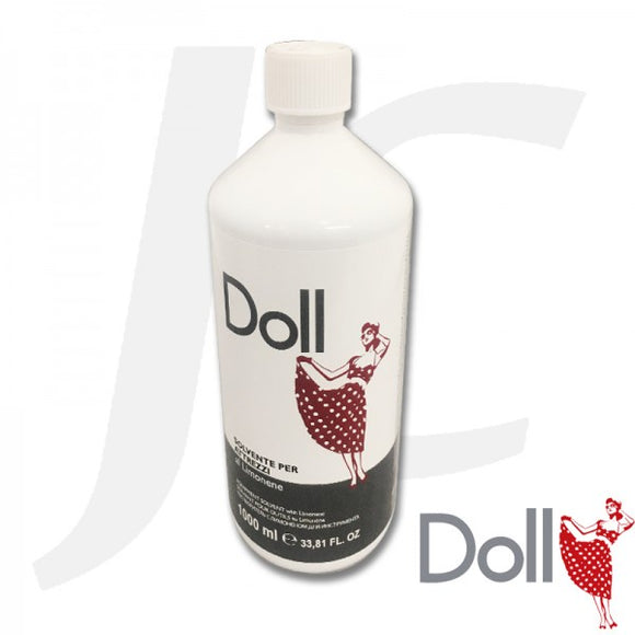 Doll Solvent For Tools 1000ml $32+GST J331DST