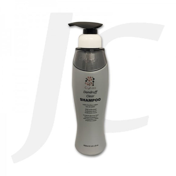 [Good for Keratin Hair] Cynos Sulfate-free Silicone-free Shampoo Dandruff Clear 300ml J14CSD*