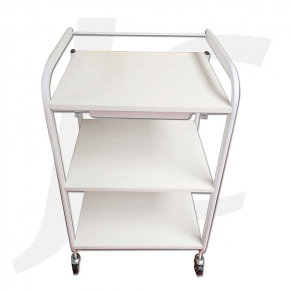 Beauty Trolley Wood and Painted Frame 84x53x39cm R216B J34TWP