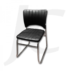 Waiting Chair Single Black J34WSB