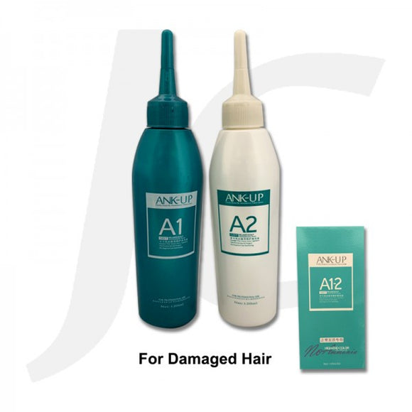 Ank-up Perm Solution 120mlx2 For Damaged Hair J15APD
