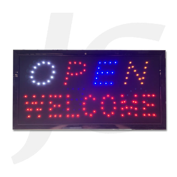 Led Open Sign Open Welcome