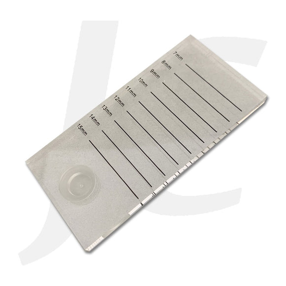 Plastic Eyelash Stand Plate With Measurements