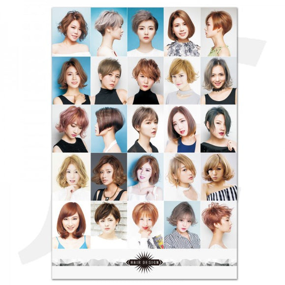 Poster Hair Design 57x84cm W-07 J36W7