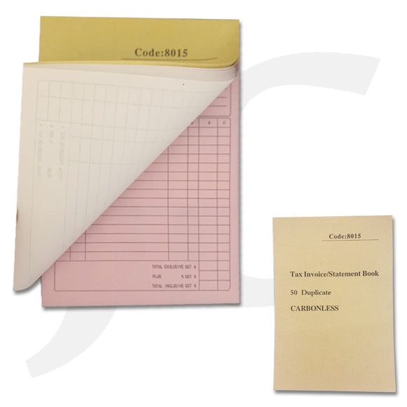 Invoice Book With Transfer Paper Carbon Less J36CLS