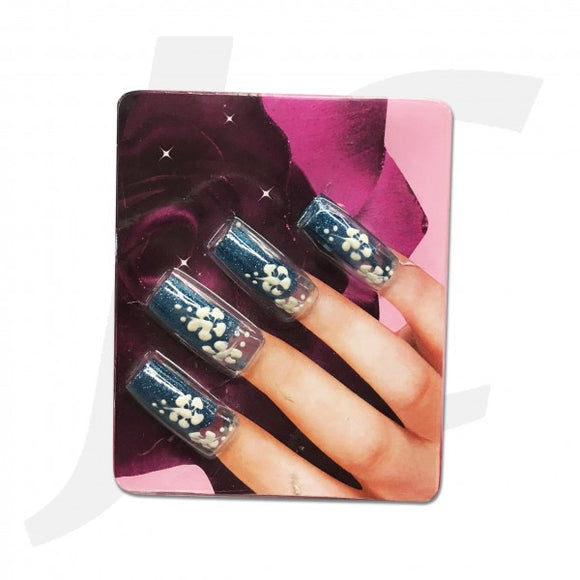 Nail Tip 3D-art Skyblue 10pcs