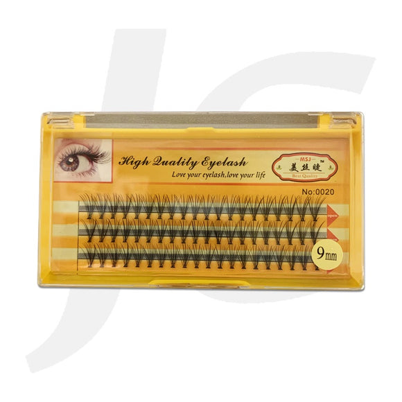 Semi Eyelash MSJ Yellow Box 0.10C 9mm J71 MJ9