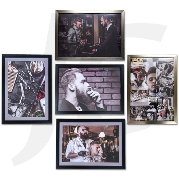 Poster With Frame 45.5x31.5cm L Set 5 PCS J36LFX