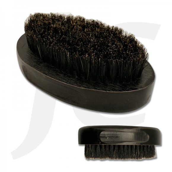 Oval Wooden Brush Brush Black WB554 J24SHB