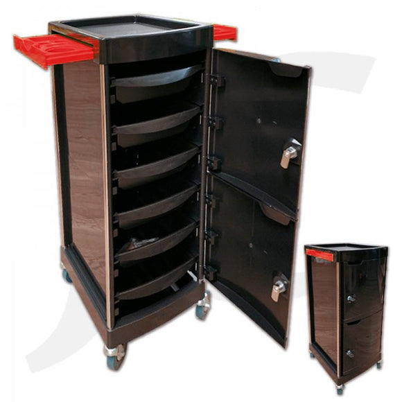 Hair Trolley A3 Red J34A3R
