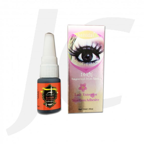 Baisidai Korean lash glue 15ml Instant Dry J322BKG