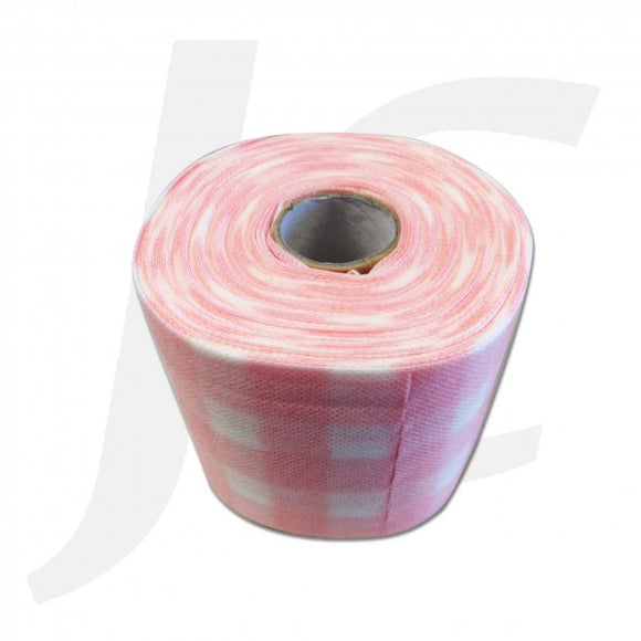 Disposable Facial Wipe Towel Roll Pink J314FWR