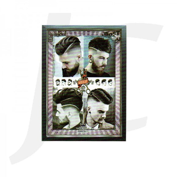 Barber Poster With Frame V-16 35x48cm J36V16