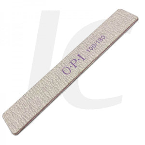 OPI Jumbo Nail File 100/180 Long Rectangular J83FJN