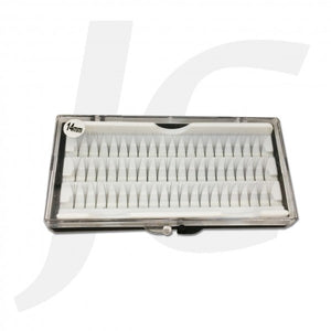 Semi Eyelash White Box 14mm J71 WX14