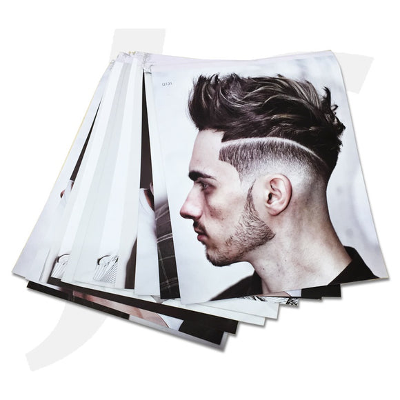 Hair Style Flag Barber 12 pages 131 J36HBF