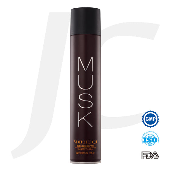 MOCHEQI MUSK Gloss Hair Spray 350ml J13MGH