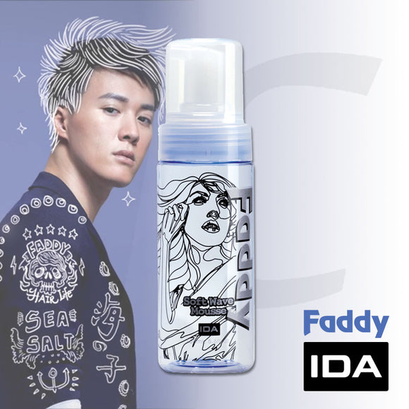 IDA Faddy Soft Wave Mousse 160ml J13WM