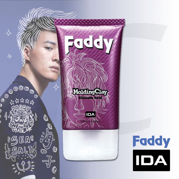 IDA Faddy Molding Clay Super Hold Tube 120ml J13SC*