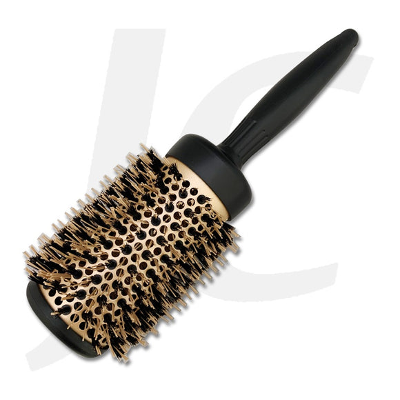 Round Brush With Bristle Black Gold 53mm J23RLE