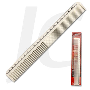 KH Lina Comb White Tail Comb With Measurement 688 J23W68