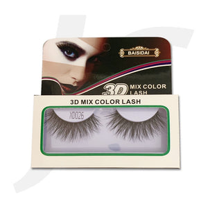 Baisidai 3D Whole eyelash XD026 J72X26