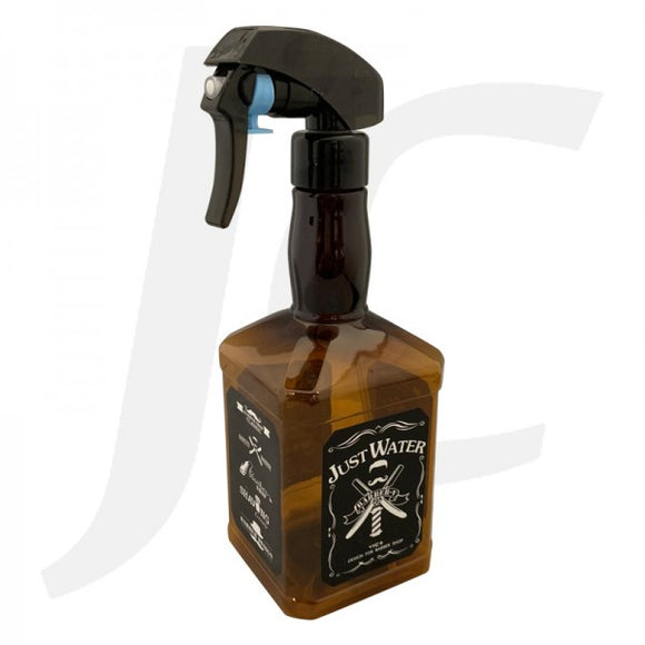 Large Barber Sprayer Classic Whisky Bottle Brown J24LWR