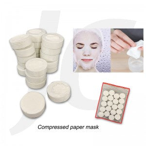 Compressed paper mask 20pcs J64CPM