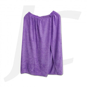 Shower Robe Skirt Purple J26RSU