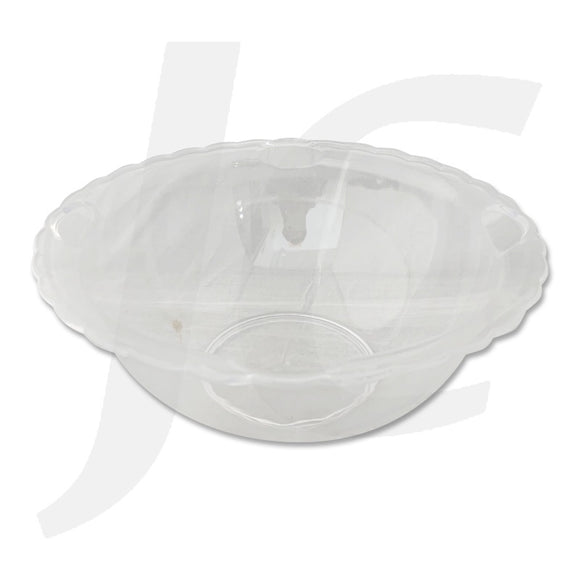 Super Clear Large Bowl Wave Edge 230mm J64SWE
