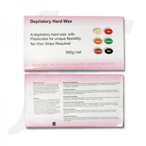 Depilatory Hard Wax 500g Promotion J41DWH