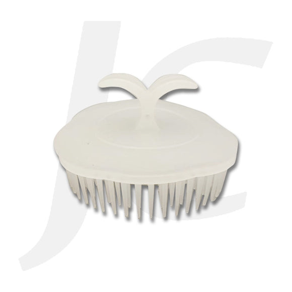 Scalp Brush Comb Flower Shape Clear J23HSF