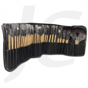 Makeup Brush Set 32 in 1 Wooden J61RUS