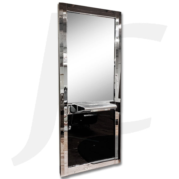 [Wall Mount Service Not Included] Station Mirror With Metal Platform J34MPM