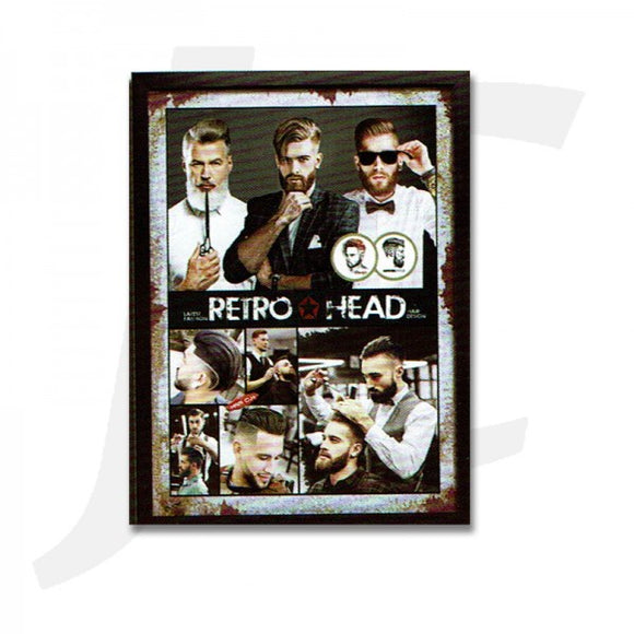 Barber Poster With Frame N-12 55x40cm J36N12
