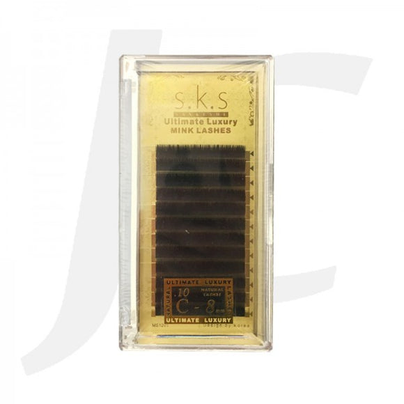 SKS Ultimate Luxury Mink Lashes 0.10 C8mm J71S18