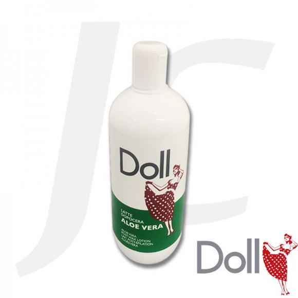 Doll Post Wax Lotion Aloe 500ml $15+GST J42DPW